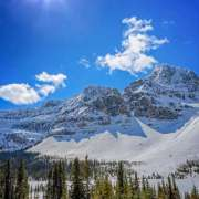 Lake Louise area and Icefields Canada