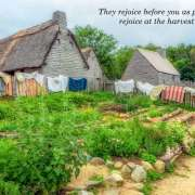 Plimoth Plantation with Cris and Sophie
