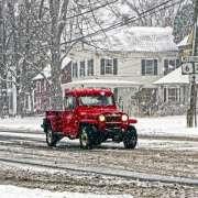 Snow in Newtown